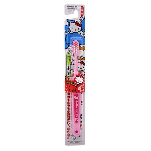 ★衛立兒生活館★日本進口 Hello Kitty 兒童牙刷-(6歲以上) - 限時優惠好康折扣