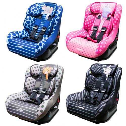NANIA 納尼亞 0-4歲安全汽座-卡通動物系列(安全座椅)FB00296★衛立兒生活館★