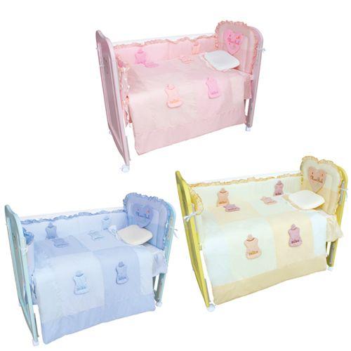 ★衛立兒生活館★The Mam Bab 夢貝比 彩虹貝比嬰兒床乳母小床+3D造型可愛奶瓶六件式被組S