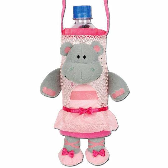 ★衛立兒生活館★Stephen Joseph 兒童造型水壺袋-河馬