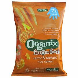 ★衛立兒生活館★英國Organix寶寶蔬菜米餅-50g
