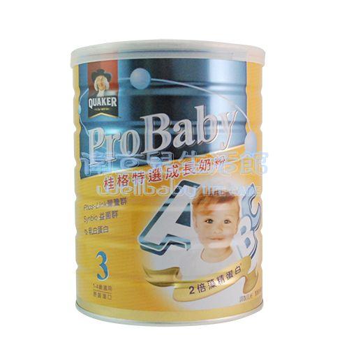 ★衛立兒生活館★桂格QUAKER特選成長奶粉-新一代藻精蛋白配方3號1.5kg/罐x6入贈好禮
