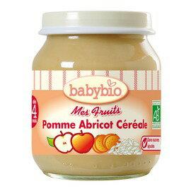 ★衛立兒生活館★法國Babybio寶寶鮮果泥系列-鮮果米泥130g