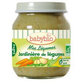 ★衛立兒生活館★法國Babybio寶寶蔬菜泥系列-田園鮮蔬綜合鮮蔬泥130g
