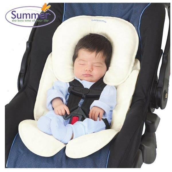 ★衛立兒生活館★Summer Infant 寶寶車用柔軟保護墊(象牙色)