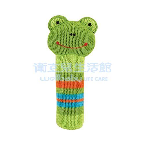 ★衛立兒生活館★Rich Frog 安撫玩具-針織啾啾棒(瑞奇蛙) - 限時優惠好康折扣
