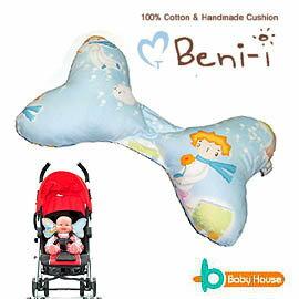 ★衛立兒生活館★Ben-i 100%純棉 幼兒護頸枕