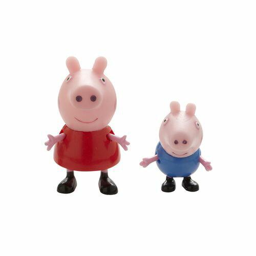 ~衛立兒 館~~Peppa Pig~粉紅豬小妹2入公仔組^(共6款^) 出貨PE04430