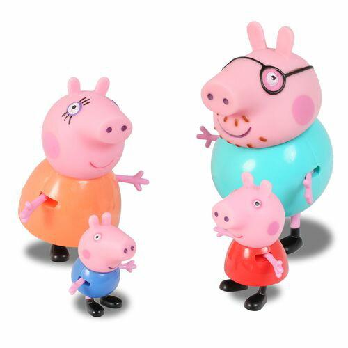 【Peppa Pig】粉紅豬小妹家庭公仔2入組-共2款PE04768★衛立兒生活館★