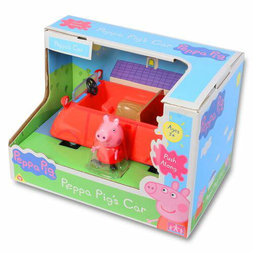 ~衛立兒 館~~Peppa Pig~粉紅豬小妹小汽車^(粉紅豬的車^)PE05324