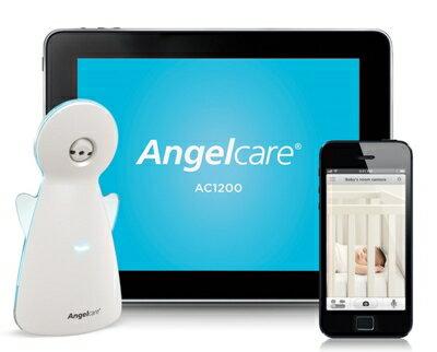★衛立兒生活館★Angelcare智慧型嬰兒動態感應監視器(行動平板)AC1200