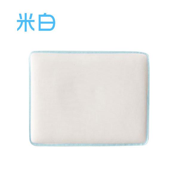 ★衛立兒生活館★奇哥 PUP Q棉透氣方型枕(米白/粉紅)