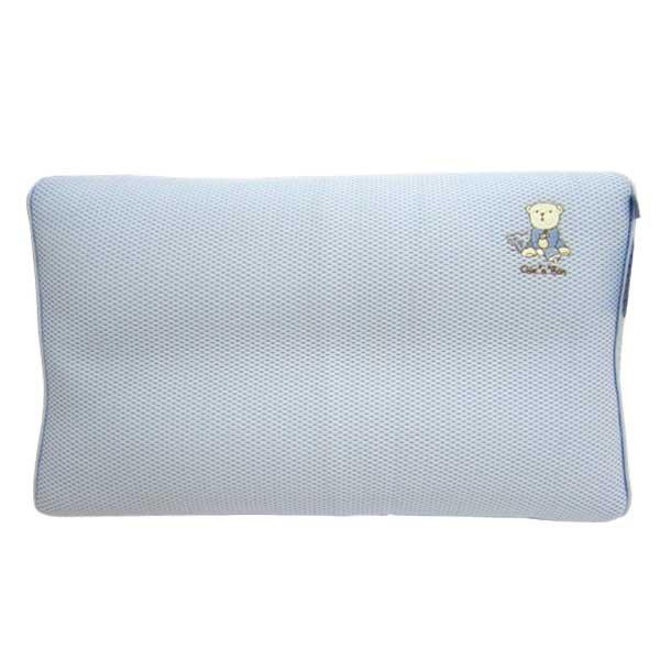 ★衛立兒生活館★奇哥 立體超透氣兒童枕(藍色/粉色)