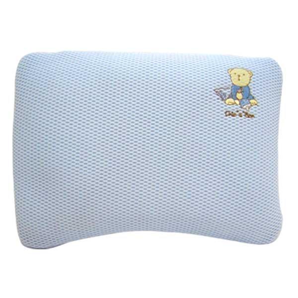★衛立兒生活館★奇哥 立體超透氣嬰兒塑型枕(藍色 / 粉色) - 限時優惠好康折扣