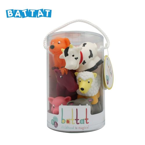 ★衛立兒生活館★美國【B.Toys】洗澡玩具-農場 Battat系列