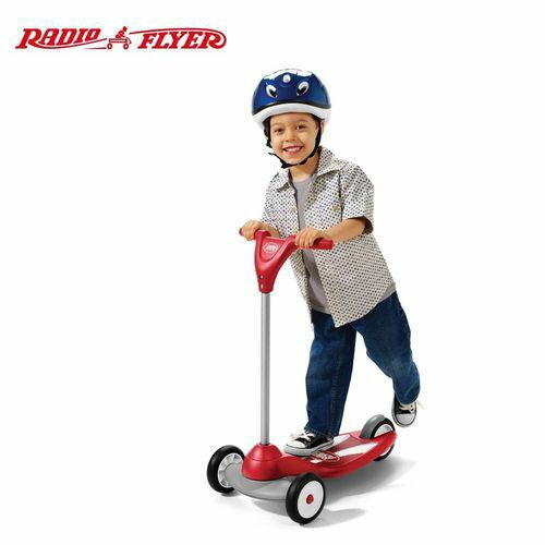 ★衛立兒生活館★美國【Radio Flyer】紅櫻桃三輪滑板車
