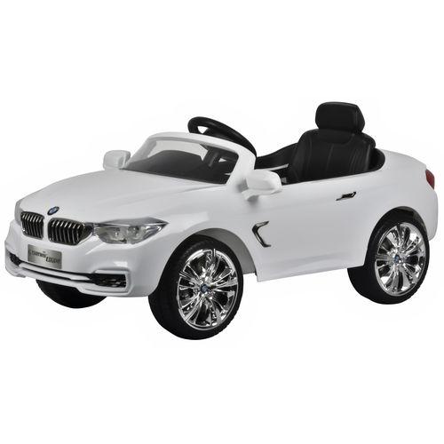 ★衛立兒生活館★BMW Series Coupe 兒童電動車-白色(遙控電動童車)(雙驅) - 限時優惠好康折扣