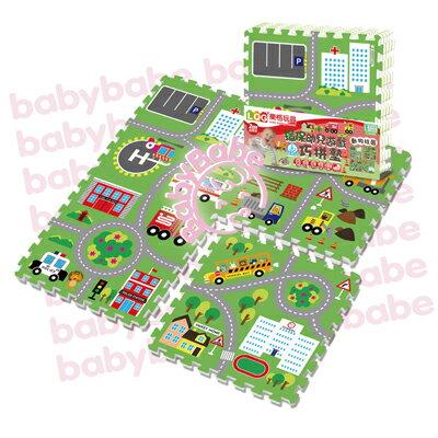 ★衛立兒生活館★同富BabyBabe 環保EPE安全拼接地墊-動物社區B938 0