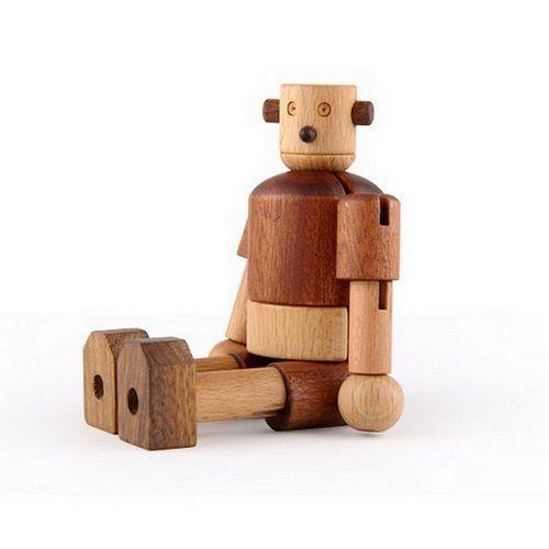 ★衛立兒生活館★Soopsori 全腦開發.原粹木積木-初階認知系列 機器人