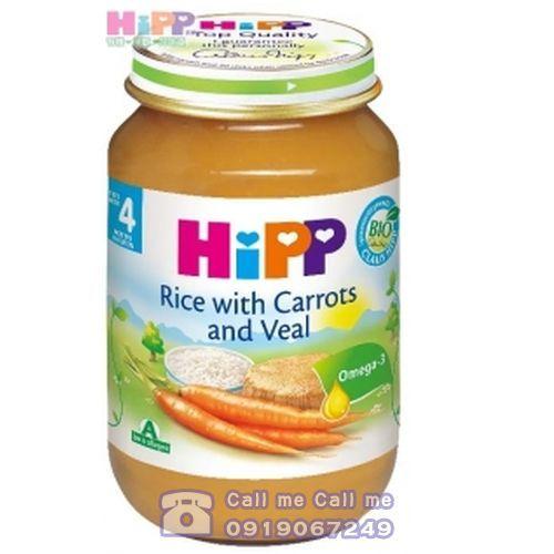 衛立兒生活館:★衛立兒生活館★喜寶Hipp天然胡蘿蔔小牛肉飯全餐