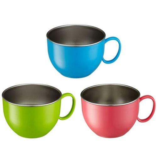 ★衛立兒生活館★美國 Innobaby 不鏽鋼單耳大杯碗-(綠色/藍色/粉色)