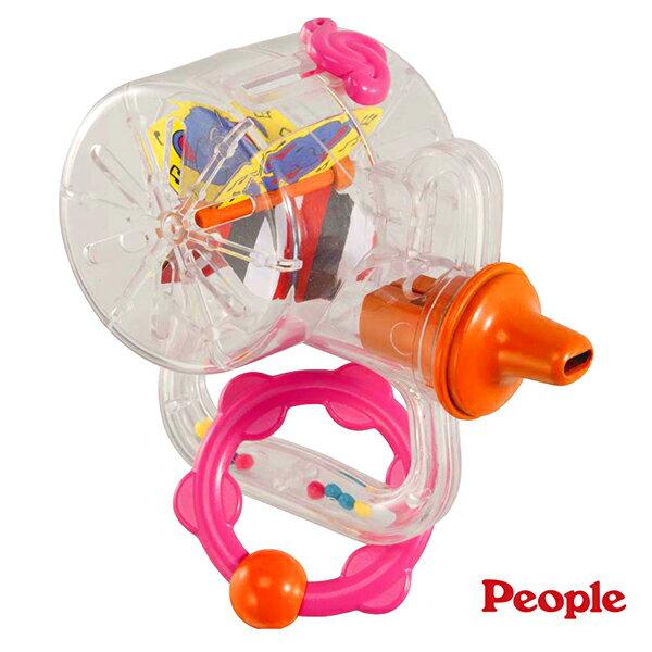 ★衛立兒生活館★日本【People】口哨笛智育玩具(TB019)#0392