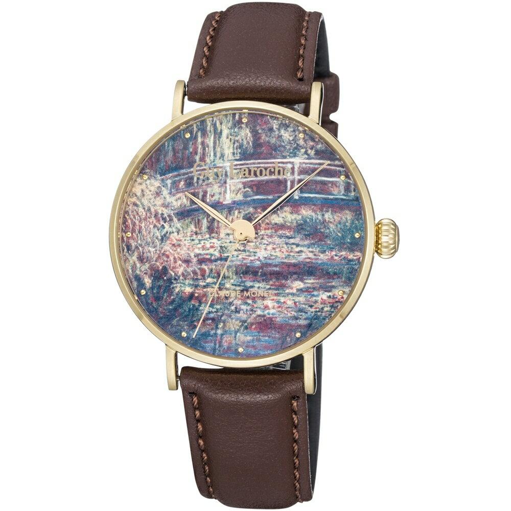 LarocheTimepieces姬龍雪 藝術系列腕錶-莫內  GA1001WPPH-03