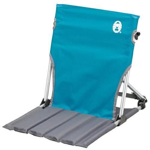【露營趣】中和安坑 Coleman CM-7672 天空藍地板椅 摺疊椅 野餐椅 休閒椅