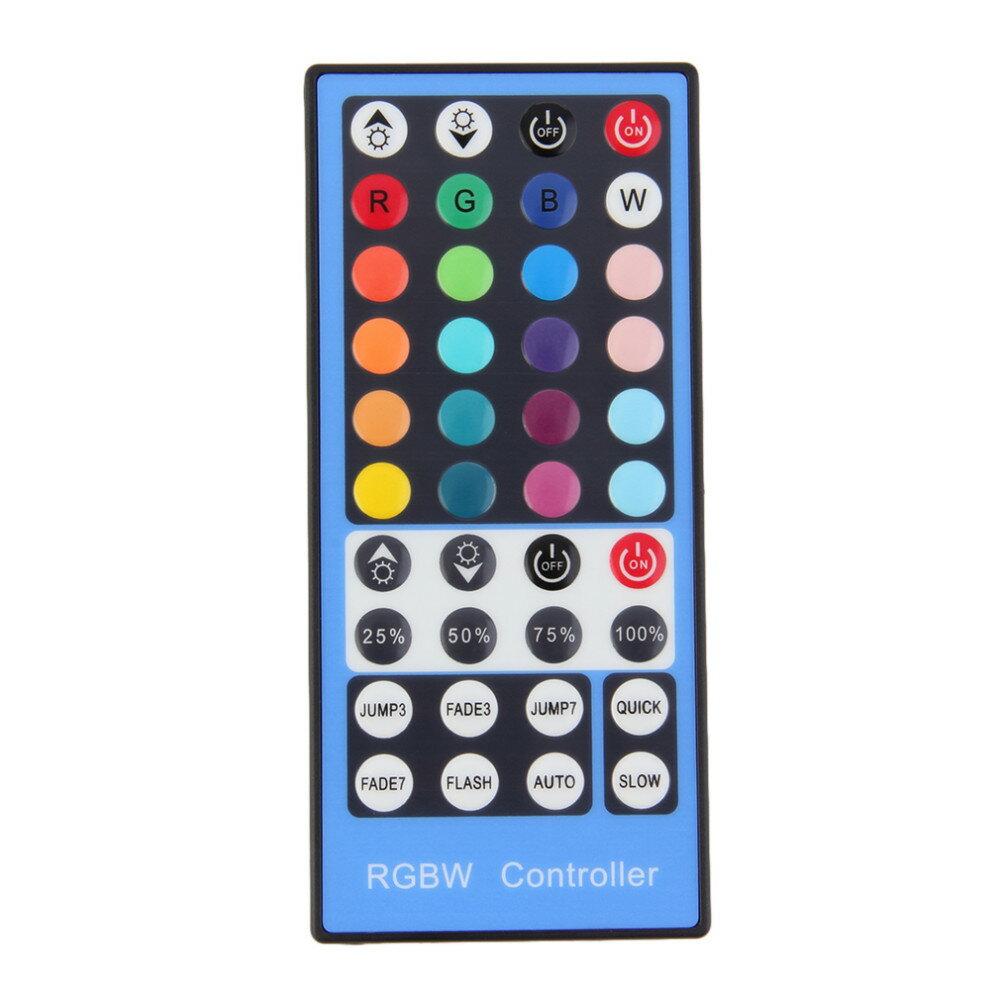 2.4G射頻4C通道DC12-24V 40鍵LED RGBW遙控器帶觸摸屏遙控器對於RGBW LED燈條