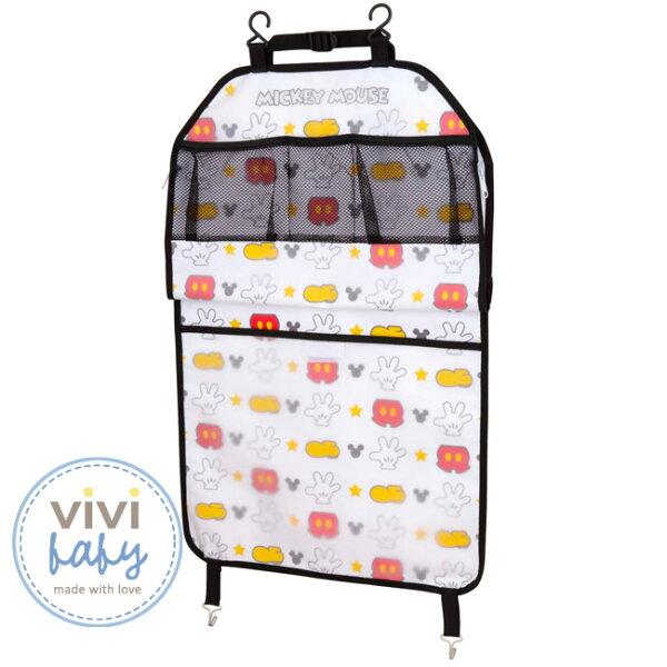 全新出清現貨一組】ViViBabyDisney迪士尼米奇汽車椅背袋599元