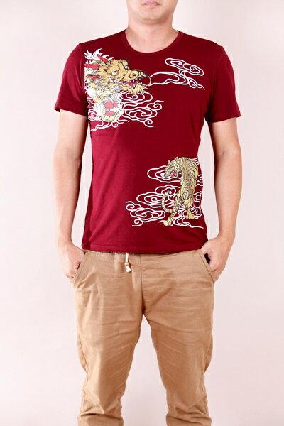 【CS衣舖 】韓系 合身版 萊卡彈力 短袖T恤 3110 3