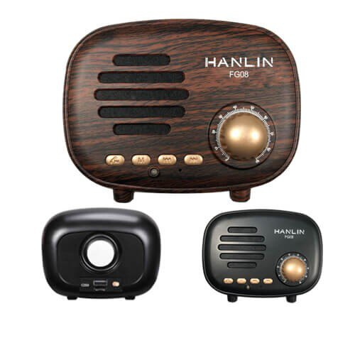 HANLIN--FG08 震撼美聲藍牙復古小音箱