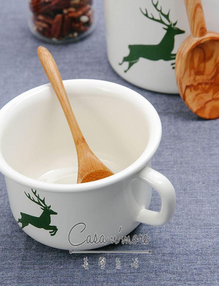 Riess 琺瑯鍋 咖啡杯 馬克杯大口徑  / 400ML 2