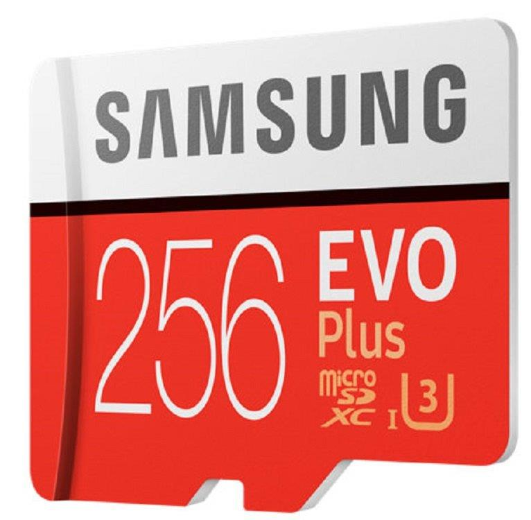 Samsung EVO Plus 100MB/s 256GB microSDXC Class 10 256G microSD micro SD SDXC UHS-I U3 C10 MB-MC256GA with Original SD Adapter and OEM USB 3.0 Card Reader 1