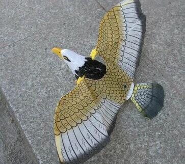 【省錢博士】電動飛鷹 / 老鷹吊線 / 飛鳥眼睛發光帶 / 鷹聲