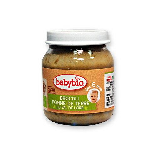 ★衛立兒生活館★法國Babybio寶寶蔬菜泥系列-有 機新綠花椰綜合蔬菜泥130g