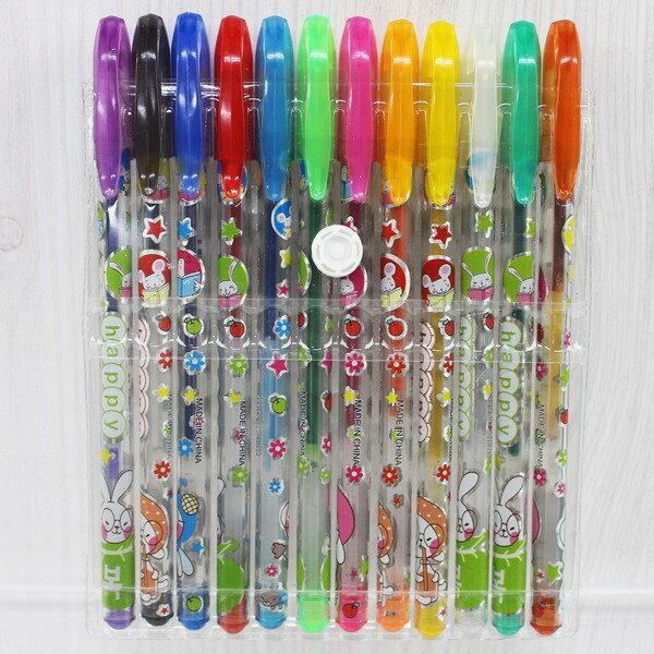 12色閃光筆NO.632金蔥閃光筆(袋裝)一卡入{促59}亮彩筆亮亮筆閃亮筆~萬