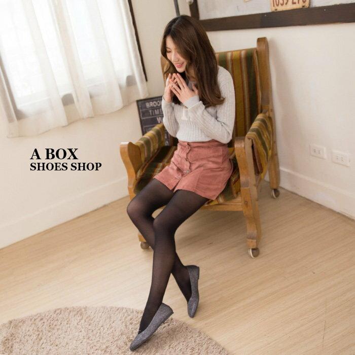 【AD324】低調流行實穿 蛇紋鏡面皮革 璀璨金蔥 尖頭平底包鞋 娃娃鞋 便鞋 4色 1