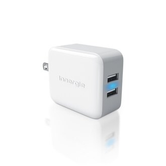 Innergie 台達電 ADP-21AW-BAJ PowerJoy Pro 21瓦雙USB快速充電器Duo USB Wall Adapter