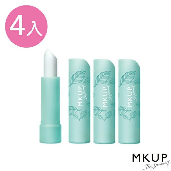 糖霜滋潤嫩唇棒4入組★MKUP 美咖 糖霜滋潤嫩唇棒 0
