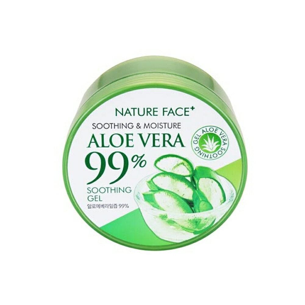 韓國 Nature Face 99%蘆薈保濕舒緩凝膠(300ml)【小三美日】◢D546024