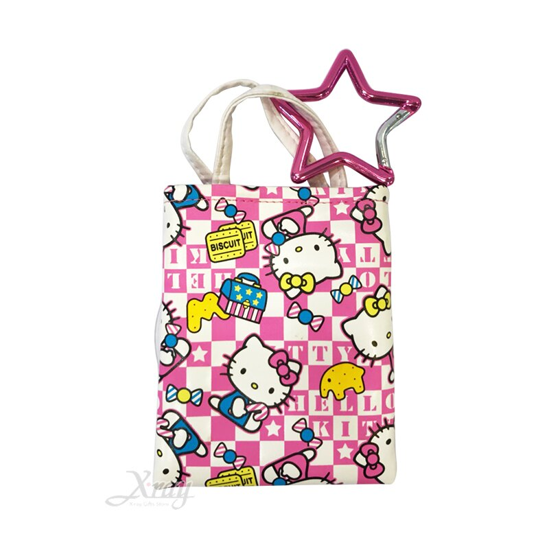 Hello Kitty手機袋(甜點),日本正版出清/Sanrio/Iphone/手機殼/手機袋/智慧型手機/手機收納,X射線【C767995】