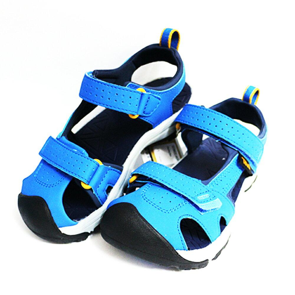 TEVA 大童運動涼鞋 Hurricane Toe Pro (藍) 綁帶涼鞋 耐磨抗菌 1019402YDLBL 【胖媛的店】