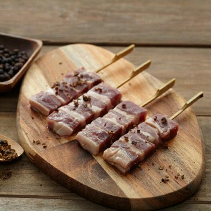 鴨肉串 三十支入(重量約1公斤)櫻桃鴨烤肉串【天然鴨館】