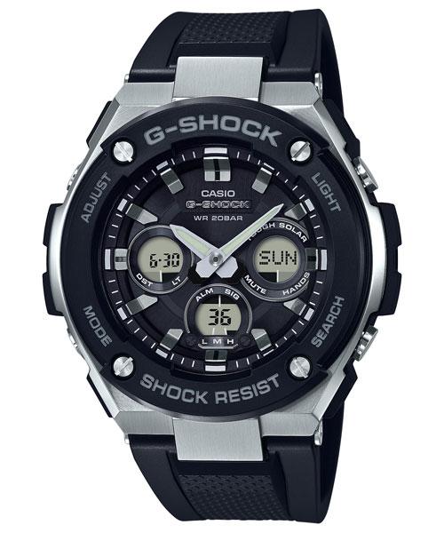 【CASIO】【G-SHOCK】GST-S300-1A 台灣公司貨 保固一年 附原廠保固卡