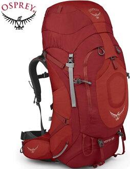Osprey 後背包/登山背包/背包客/背包/健行 Xena 85 大背包 女 寶石紅