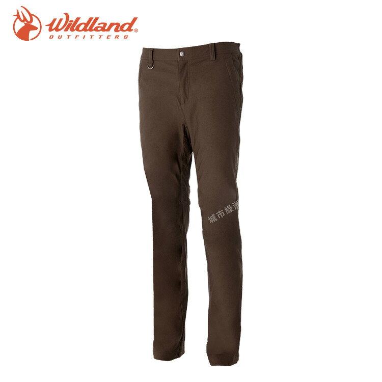 【WildLand荒野】0A52392男RE超彈性保暖長褲 (M~2L) / 城市綠洲 (登山露營、戶外休閒、旅行)