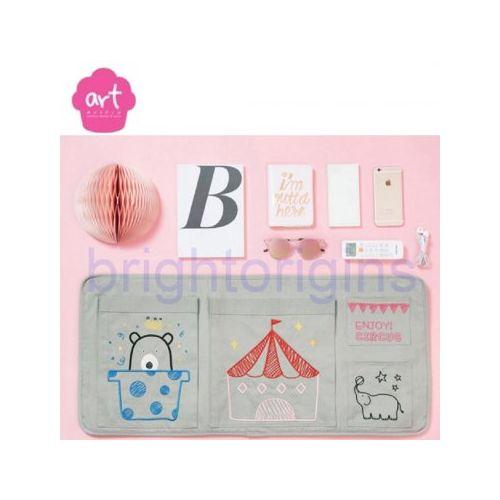 Baby muffin ART Muffin Beside Pocket 床邊收納袋(灰色)★愛兒麗婦幼用品★