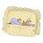『121婦嬰用品館』狐狸村 太空矽膠嬰兒造型枕 - 黃 0