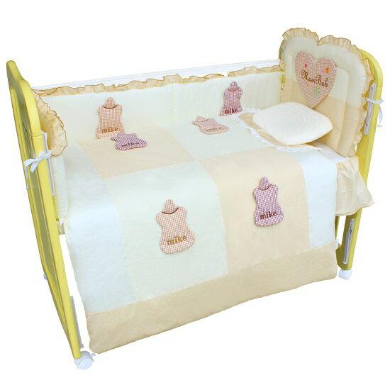 Mam Bab夢貝比 - 3D造型可愛奶瓶6件式被組 -S (粉、黃、藍) 3